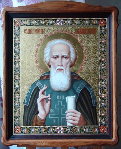 Икона Св. Сергия Радонежского