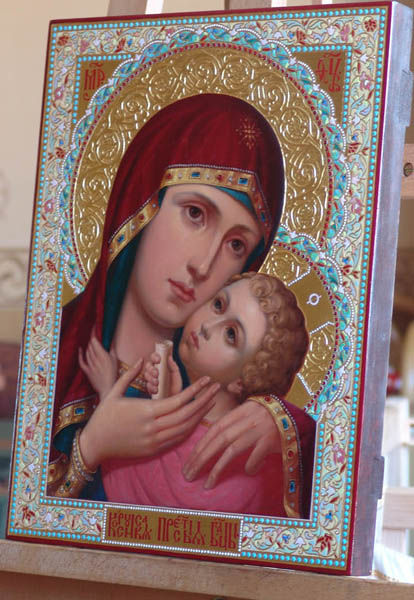 Корсунская икона Божьей Матери